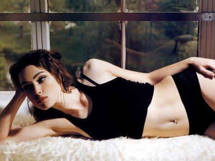 A Keira Knightley no la averguenza desnudarse