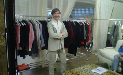 Baruc Corazón... universalidad en cada uno de sus diseños en la tienda de Elena Benarroch