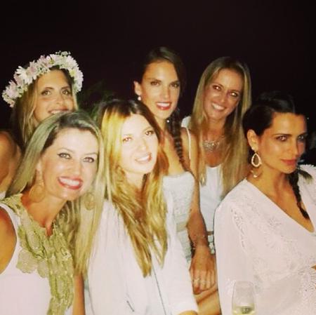 Look año nuevo Alessandra Ambrosio