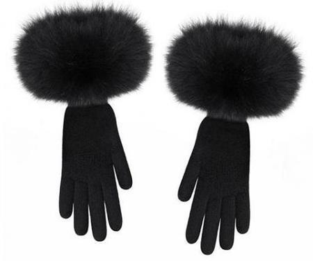 Guantes Grace negros de Dior