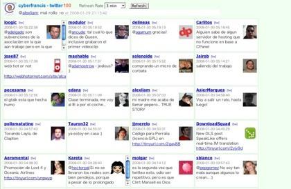 Twitter100, una forma rápida de acceder a los últimos tweets de nuestros contactos