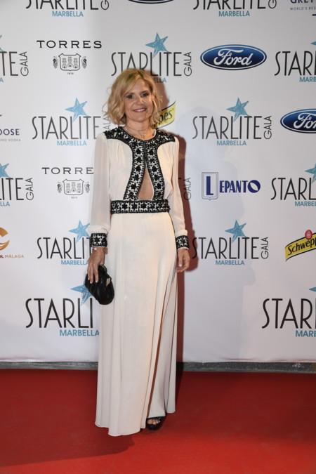 2016 08 06 Eugenia Martinez De Irujo Starlite Gala Foto Carlos Vela