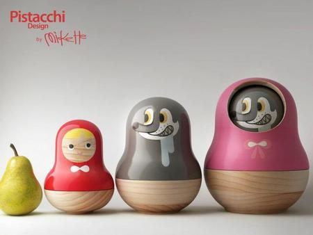 Caperucita roja en versión Matrioska, de Pistacchi Design
