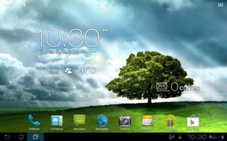 Padfone 2 modo tablet