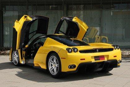Debería ser delito tunear un Ferrari... Enzo