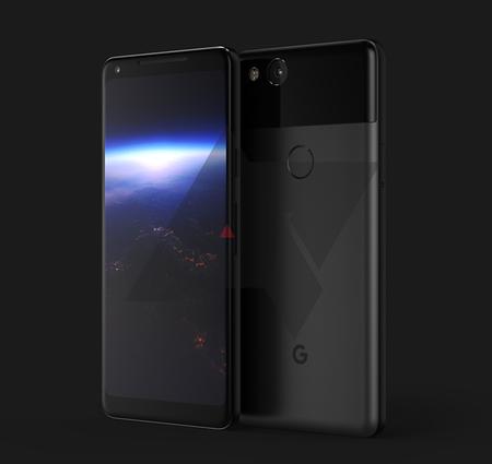 Pixel 2017: así sería el próximo teléfono de Google, con marcos muy pequeños
