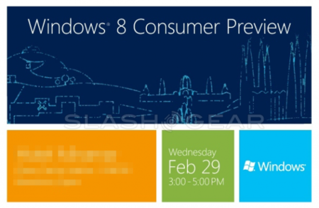 Microsoft hará debutar a Windows 8 'Consumer Preview' en el Mobile World Congress