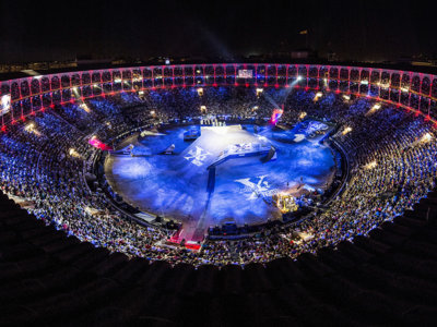 Tom Pagès es leyenda. El único cuatro veces ganador del Red Bull X-Fighters de Madrid, ¡consecutivas!