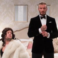 Nuestras plegarias han sido escuchadas: David Beckham es James Bond... un ratito