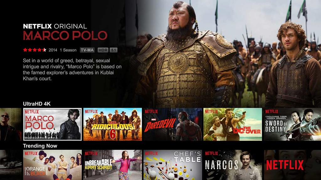 Netflix Android-OS Tv