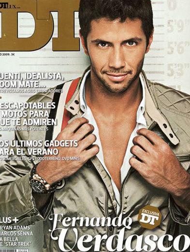 Fernando Verdasco tremendo en la portada de DT