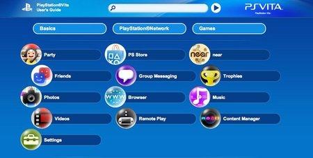 ¿Ansioso por adquirir una PS Vita? Ojea su manual de instrucciones para ir preparándote
