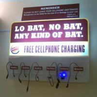 Imagen de la semana: Carga tu móvil en la hamburguesería