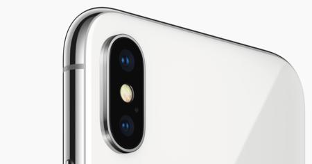 La cámara dual trasera del iPhone X