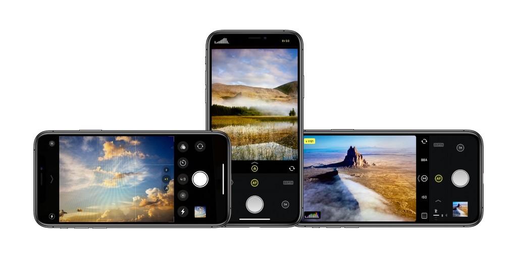 Comparación de apps de fotos: Cámera, Halide y Firstflight