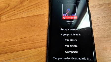 Cómo usar el nuevo temporizador de apagado de Spotify para que la música se detenga automáticamente