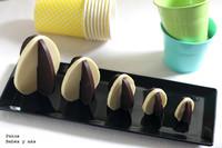 Huevos de Pascua de dos chocolates para hacer con los niños