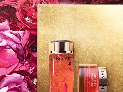 Absolue Precious Cells de Lancôme: la rosa como nunca la imaginaste