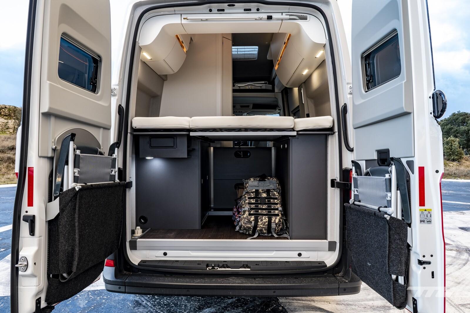 Foto de Volkswagen Grand California 2021, prueba (26/28)