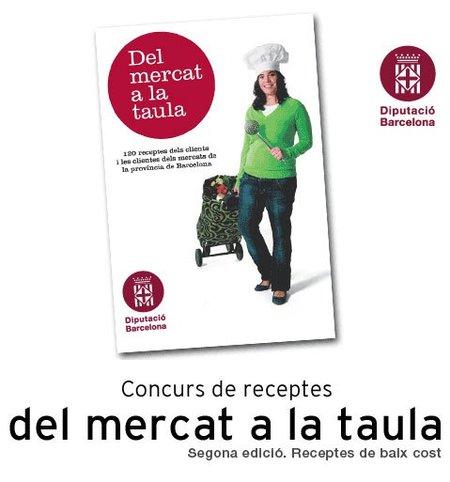 Concurso de recetas Del Mercat a la Taula