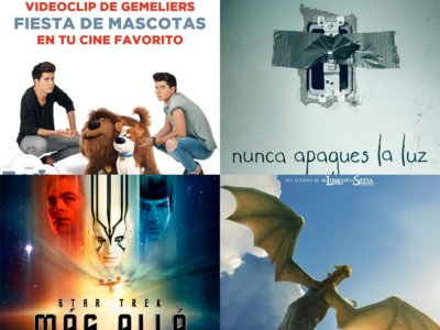 Taquilla española | Las mascotas y el terror superan a Star Trek y Disney