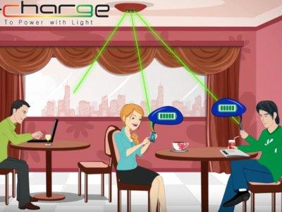 Así funciona Wi-Charge, la recarga inalámbrica para móviles que utiliza rayos láser