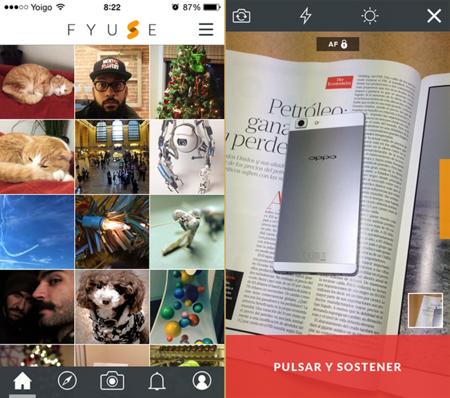 Fyuse nos propone una forma interactiva de registrar y visualizar la escena