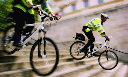 La policía de Londres busca bicicleta