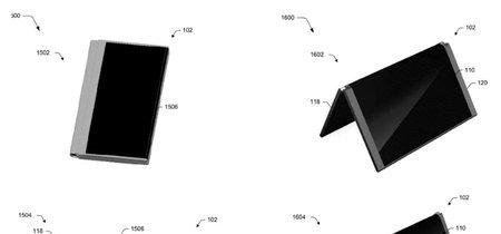 En Microsoft también están planteando el desarrollo de un smartphone plegable