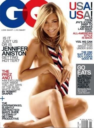 Jennifer Aniston se desnuda para GQ