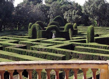 Laberinto De Arbustos. Parque De Tentegorra Regin De Murcia ...