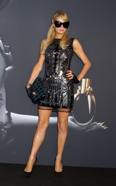 Presentación del perfume de Lady Gaga