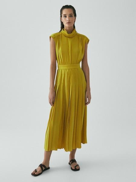 Vestido Plisado Limited Edition