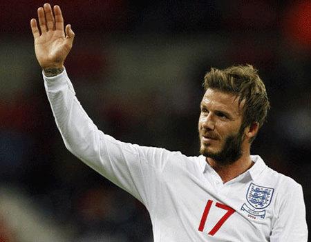 La polémica barba de David Beckham