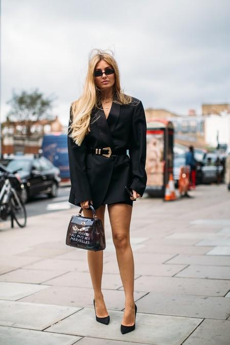 Cinturon Negro Mujer 4