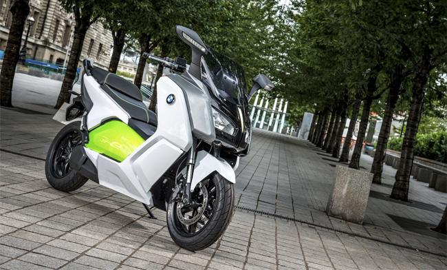 Moto eléctrica BMW C Evolution