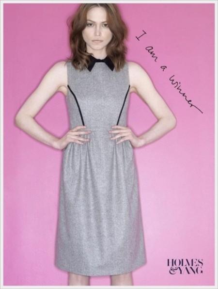 Hasta el cielo y más allá... Katie Holmes en la Semana de la Moda de Nueva York