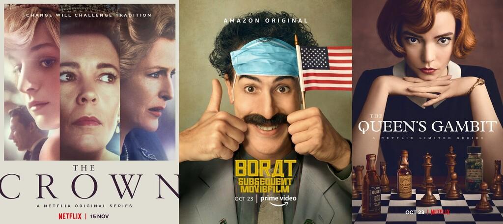 Globos de Oro 2021: todas las películas y series ganadoras que puedes ver en Netflix, Amazon, Movistar+, HBO, Apple Tv+ y Disney+