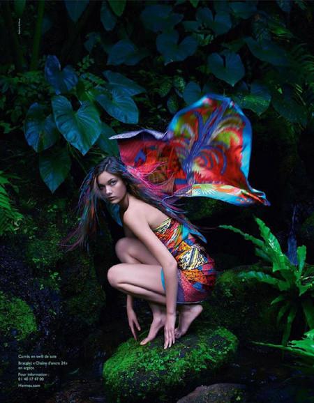 La metamorfosis de Hermès en plena jungla