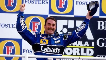 Mansell F1 1992