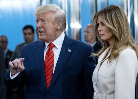 Melania Trump asiste a la  Asamblea de Naciones Unidas con un abrigo de casi 3.000 euros