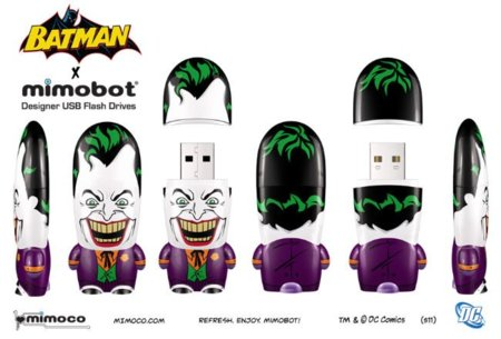 MimoBot de Batman y Joker