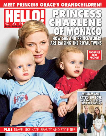 Los bebés de Mónaco, todo ojazos