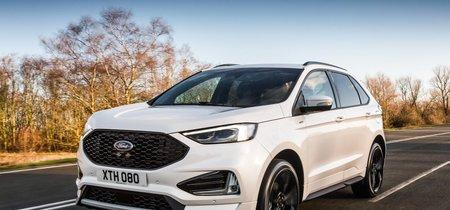 El Ford Edge se renueva en 2018: estrena versión deportiva ST-Line y un diésel biturbo de 238 CV
