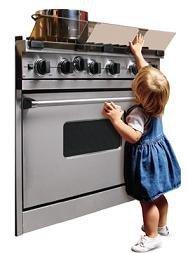 Barrera de seguridad para la cocina