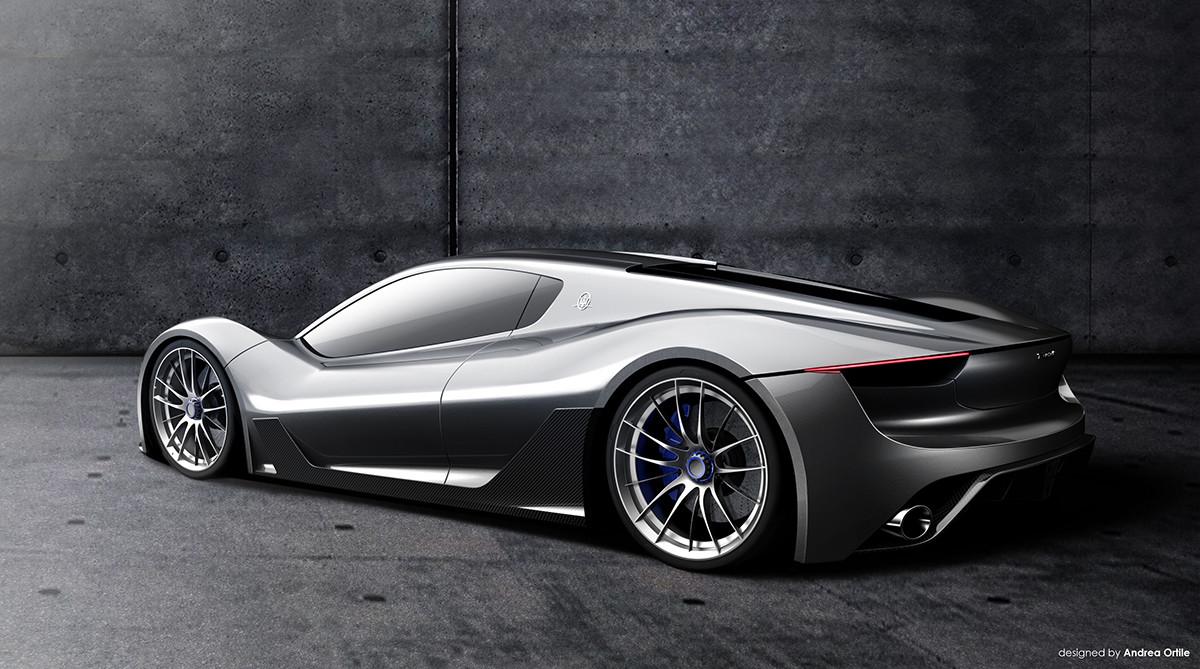 Hiperdeportivo Maserati - Recreación