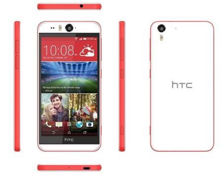 HTC Desire Eye, selfie-phone de gama alta