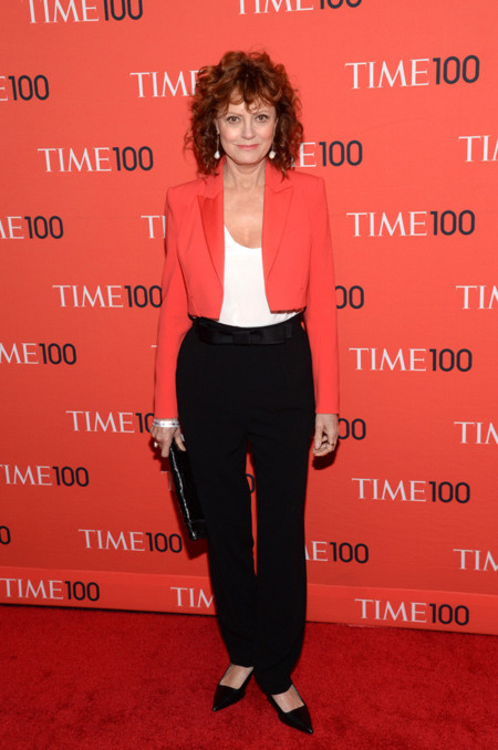 Susan Sarandon Time fiesta look