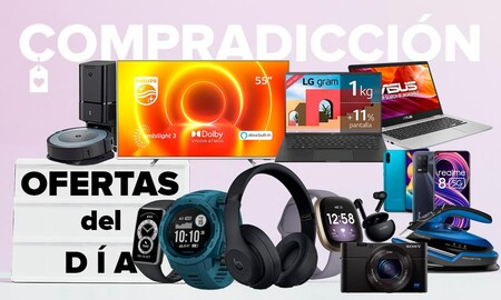 Ofertas del día en Amazon: smartphones, smartwatches, smart TVs, portátiles, robots aspiradores y más en estas selecciones a los mejores precios