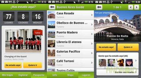 Tourist Eye pasaporte y lugares